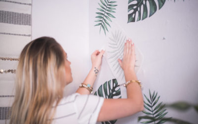 Urban Walls Palm Leaf Decals