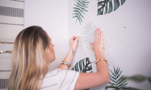 Urban Walls Palm Leaf Decals