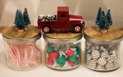 Christmas Candy Jars DIY