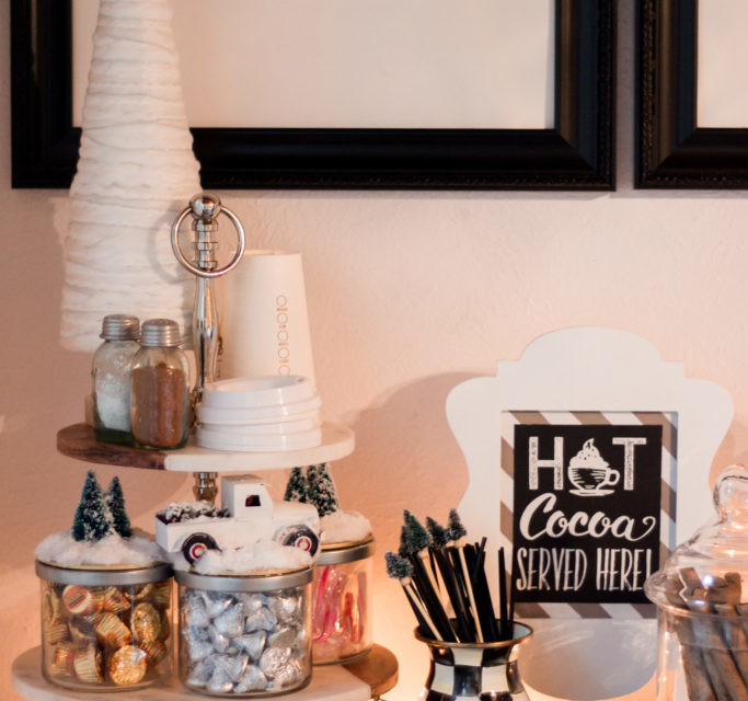 Hot Chocolate Bar for Winter