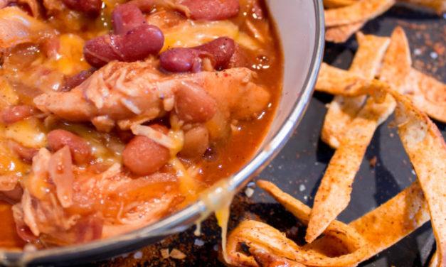 BBQ Chicken Crockpot Chili