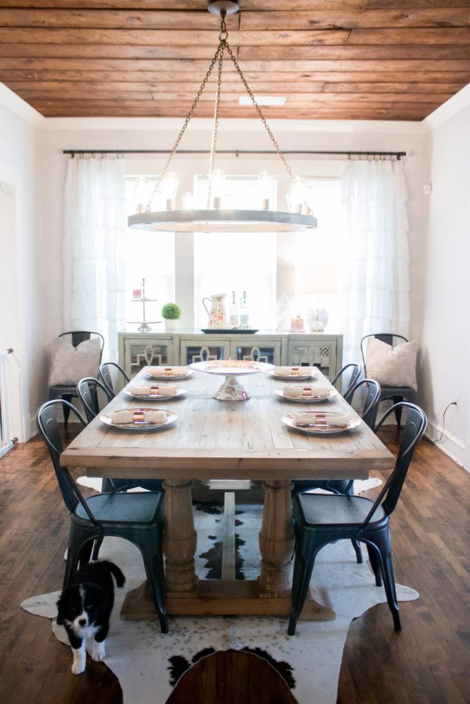 Farmhouse Glam Dining Room Update Kristyn Cole
