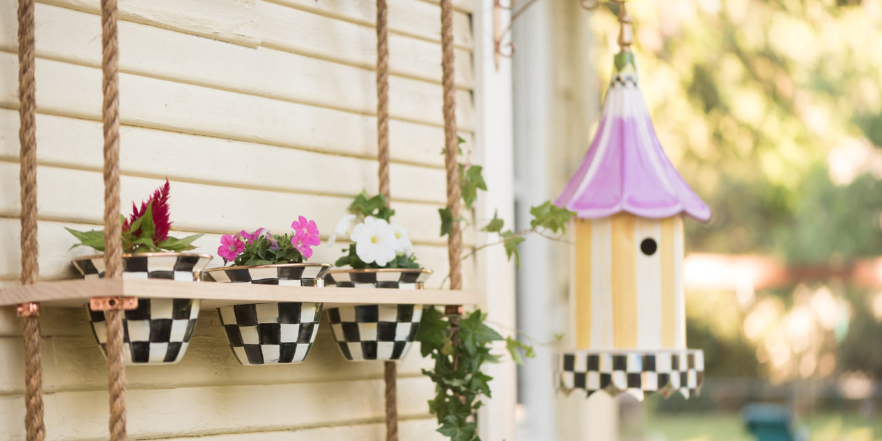 DIY Vertical Flower Garden