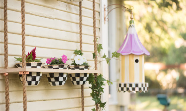 DIY Vertical Flower Garden