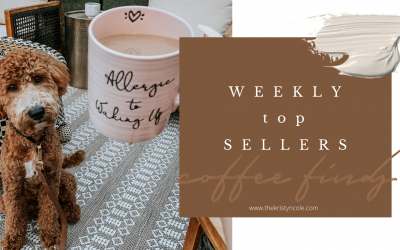 Coffee Finds | Weekly Top Sellers
