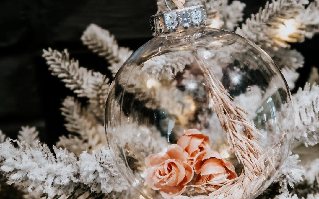 Boho Christmas Ornament DIY