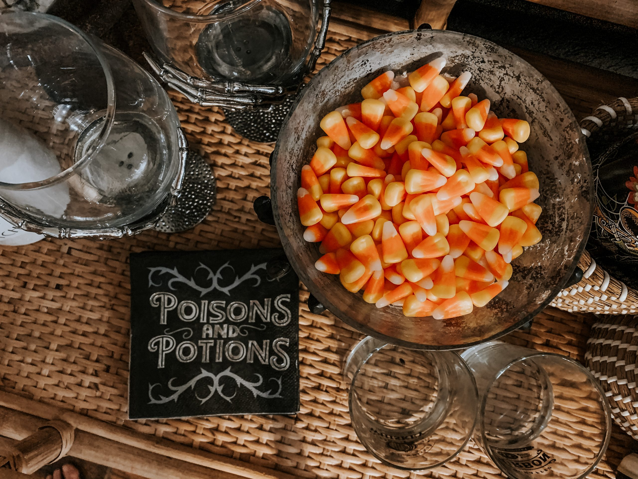Halloween Party Poison and Potions Napkins