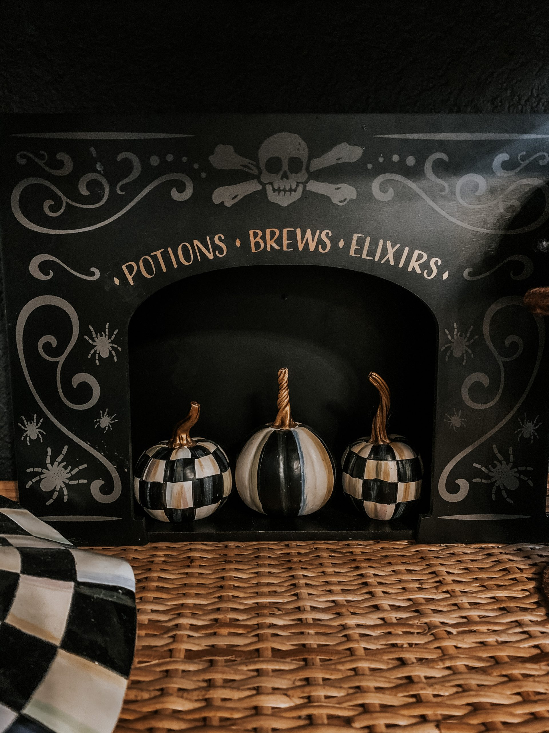 Potions Brews and Elixirs Halloween Decor