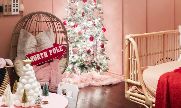 Girls Christmas Bedroom