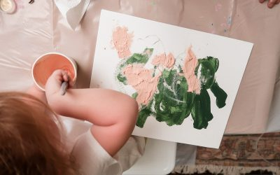 Abstract Wall Art for Kids
