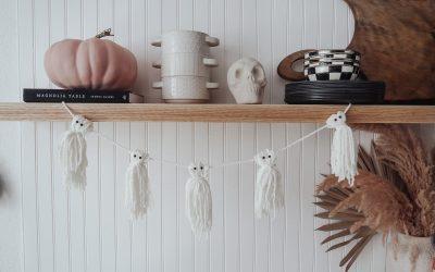 DIY Ghost Garland