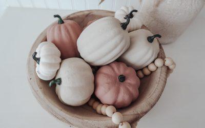 DIY Textured Pumpkins