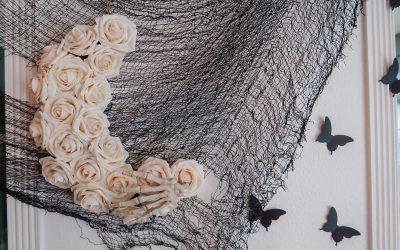 DIY Skeleton Rose Moon