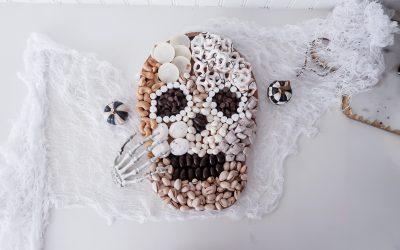 DIY Skull Snack Board