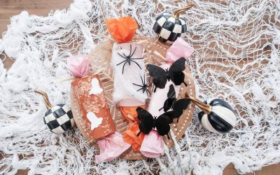 DIY Halloween Party Poppers